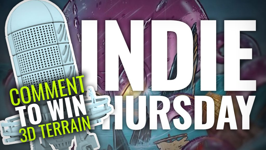 Indie Thursday: Sci-Fi Terrain Giveaway, Sirens & Spaaace!
