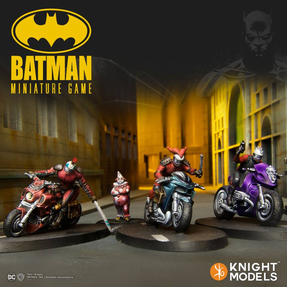 Joker Bikers - Knight Models