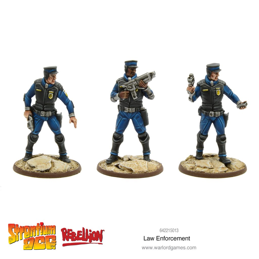 Law Enforcement - Warlord Games