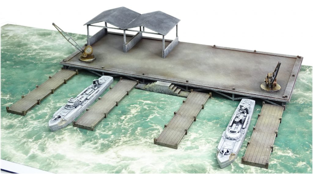 Motorboat Pens - Warlord Games
