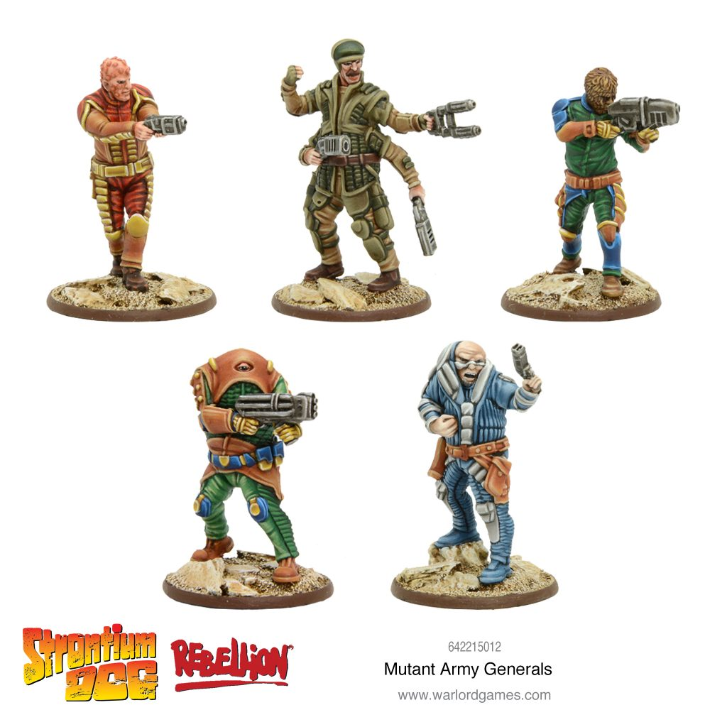 Mutant Army Generals - Warlord Games