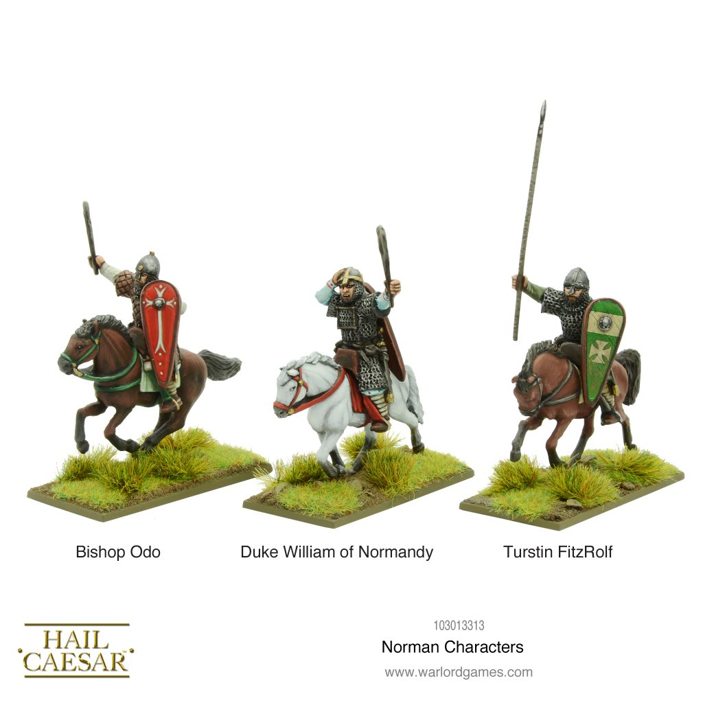 Norman Characters - Warlord Games