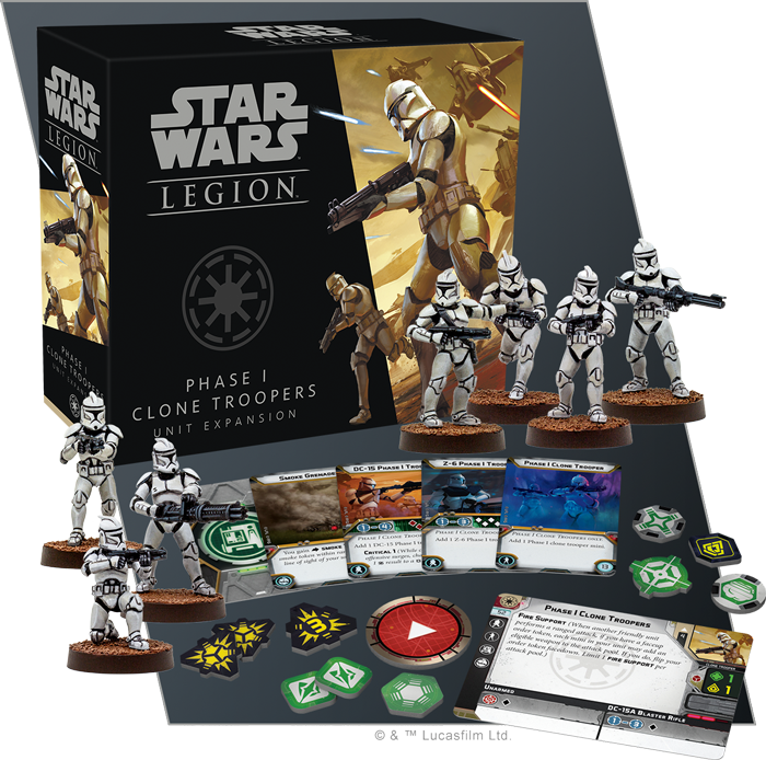Phase One Clone Troopers - FFG