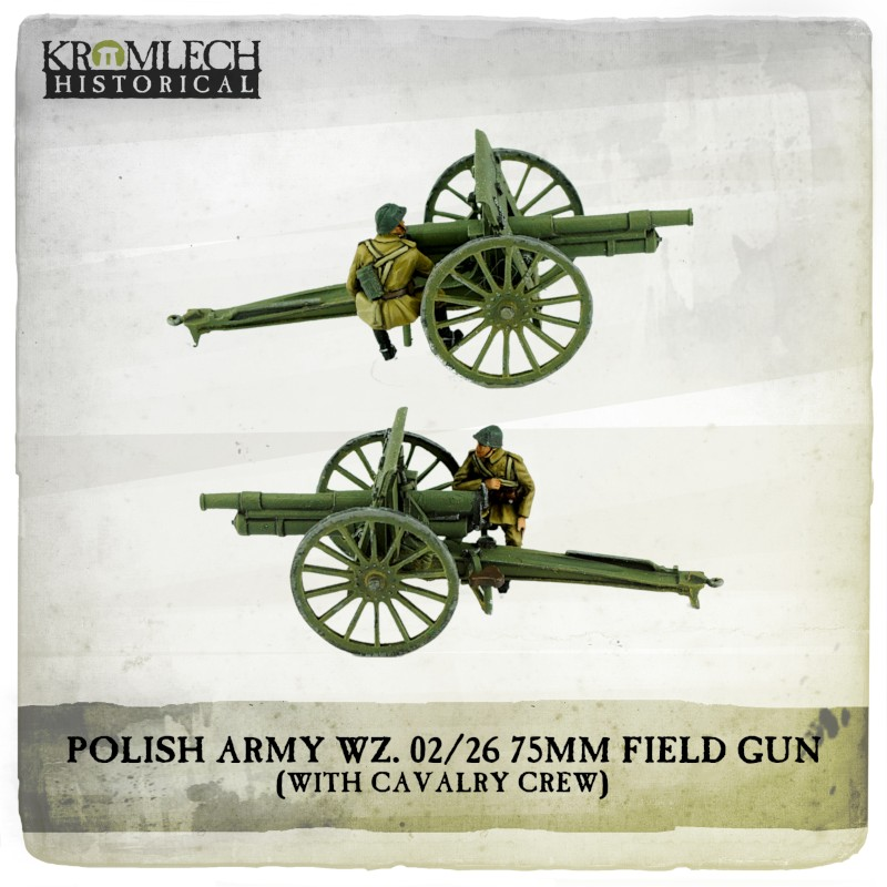 Polish Army WZ 02-26 75mm Field Gun - Kromlech