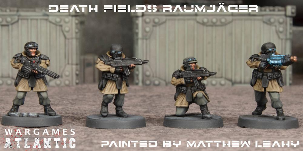 Raumjager Infantry Painted Examples - Wargames Atlantic