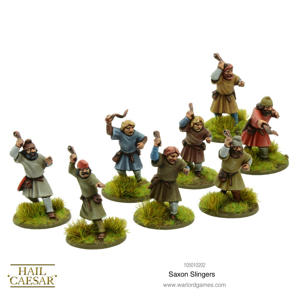 Saxon Slingers - Warlord Games