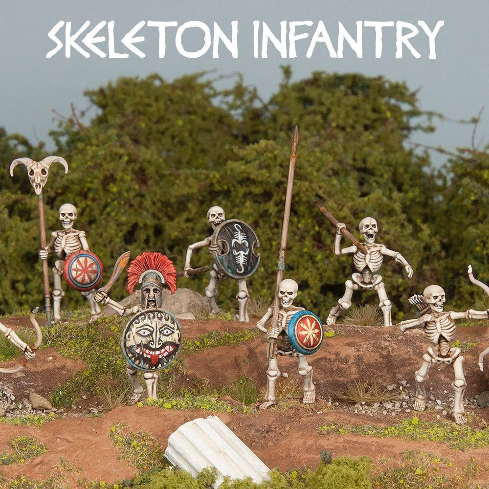 Skeleton Warriors Painted Examples - Wargames Atlantic
