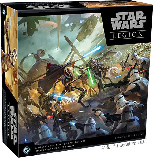 Star Wars Legion The Clone Wars - FFG