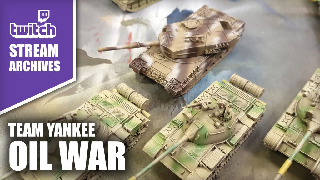 Stream Archives: Oil War Tank Painting with John