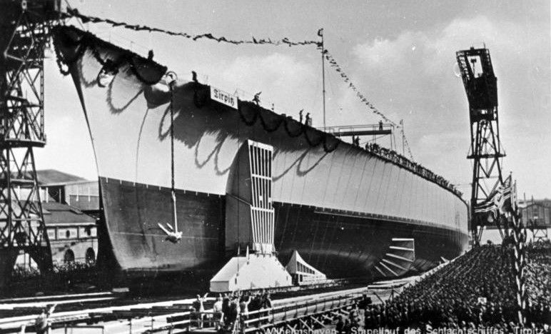 The Launch Of The Tirpitz