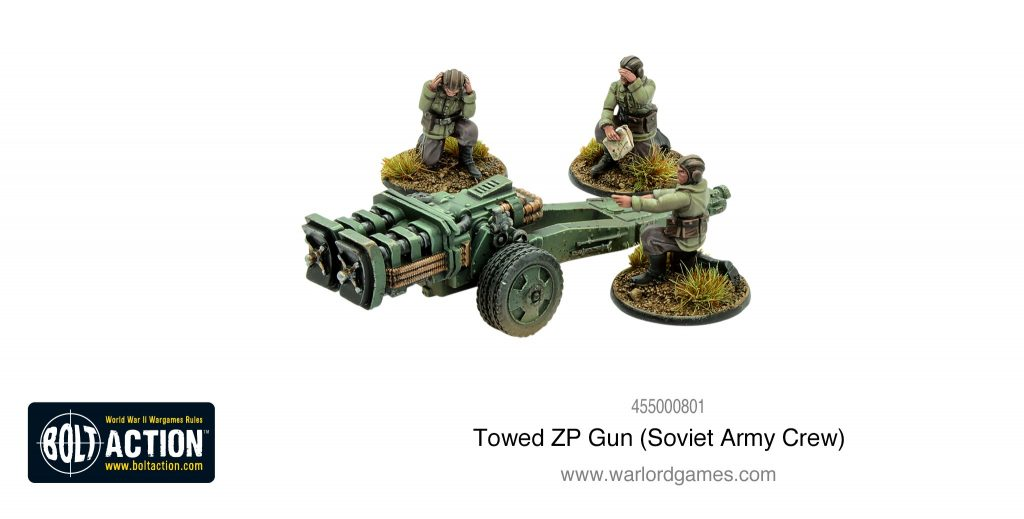 Towed ZP Gun - Warlord Games