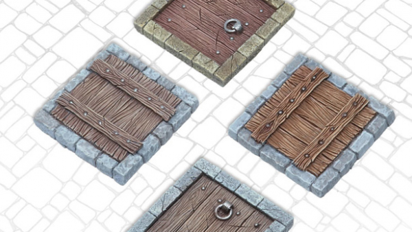 Tabletop Art Open Up A Trapdoor On New Scenery Accessories