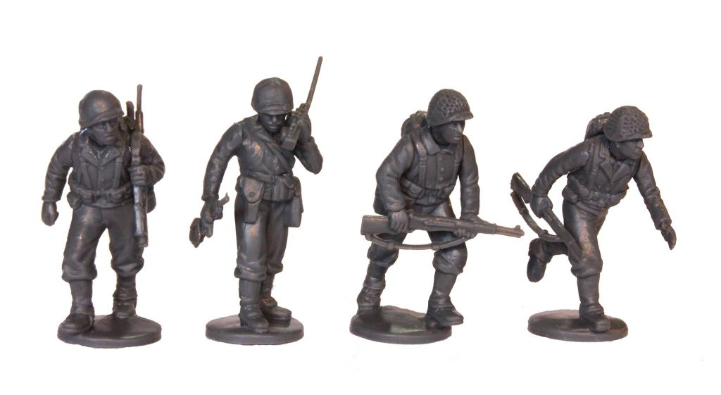 WWII Plastic US Miniatures #1 - Perry Miniatures