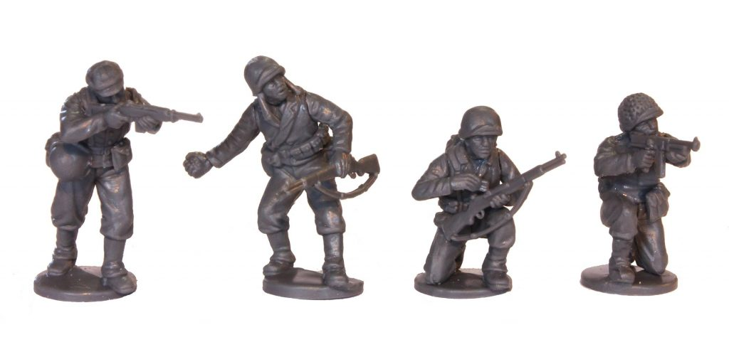 WWII Plastic US Miniatures #2 - Perry Miniatures