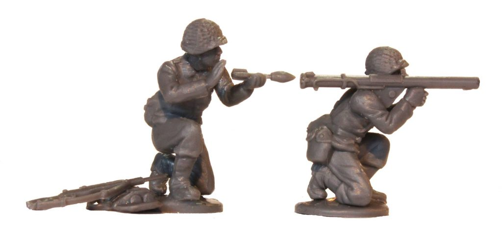 WWII Plastic US Miniatures #3 - Perry Miniatures
