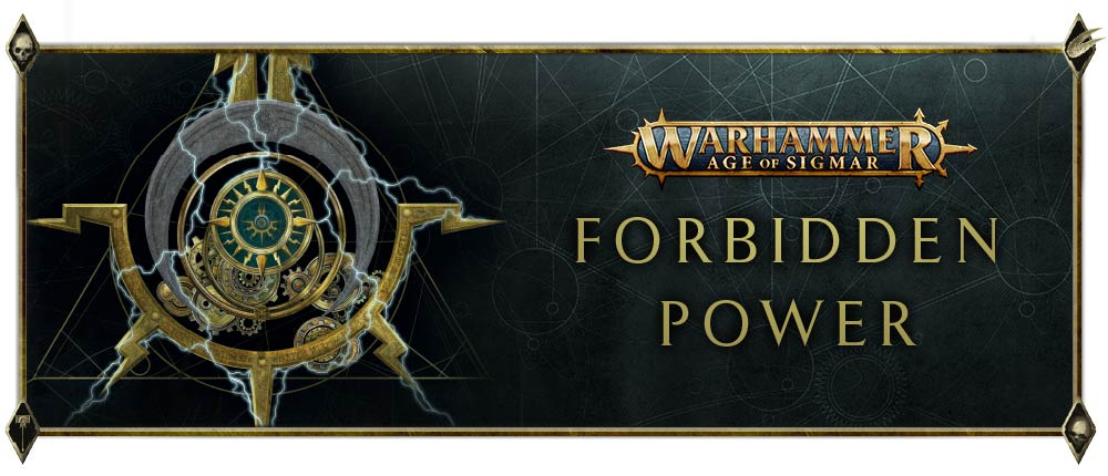 Warhammer Age Of Sigmar Forbidden Power - Games Workshop