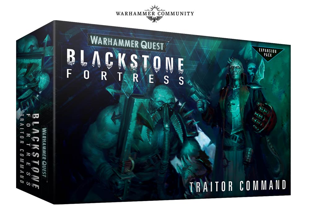Warhammer Quest Blackstone Fortress Traitor Command - Games Workshop