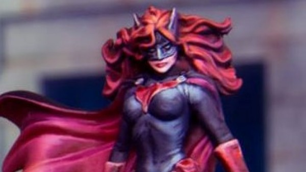 Knight Models' Batwoman Chases Archie & Joker's Bikers