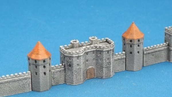 Brigade Models Release New Tiny Castle Towers