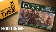 Frostgrave Ghost Archipelago Unboxing: Tribals