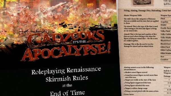 Fight In The Fantasy Apocalypse With Gadzooks On Kickstarter