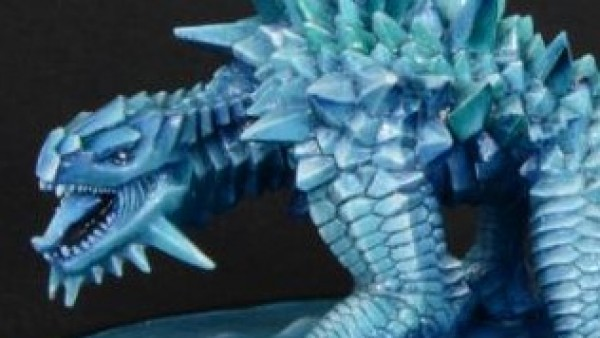 NeverRealm Freeze Before Their Snarling Glacier Dragon