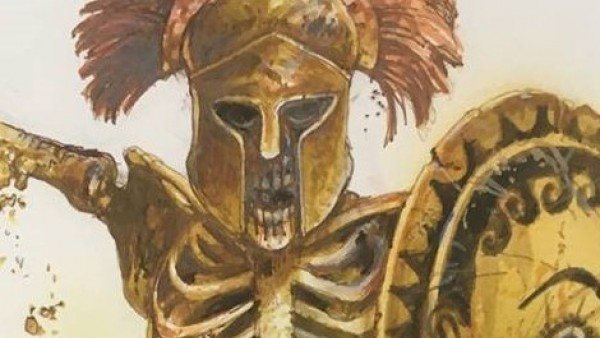 War Banner & Wargames Atlantic Summon Greek Skeletons!