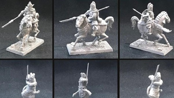 The Empire Of Katai Gets Its Heroes From Zenit Miniatures