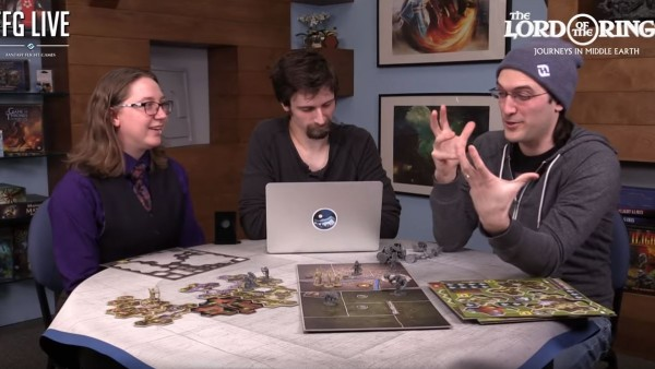 FFG Unbox Journeys In Middle-earth With The Designers!