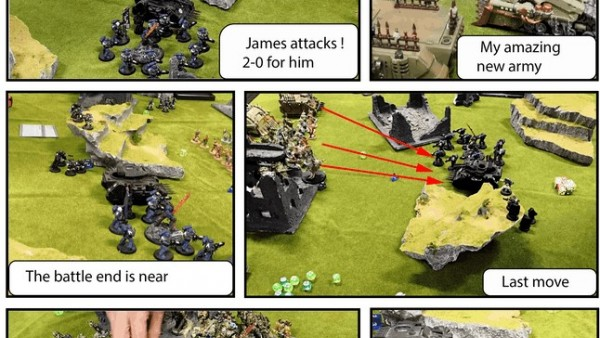 Create Cool Battle Reports With MyMiniReport Kickstarter
