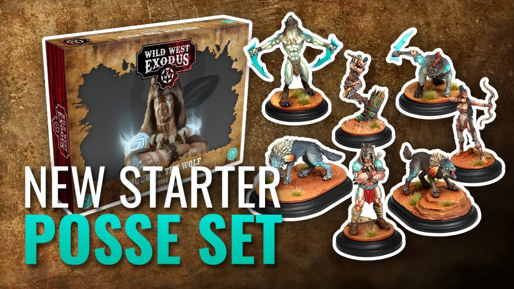 New Wild West Exodus Starter Posse: Hour of the Wolf