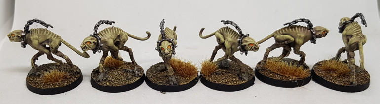 Hell Hounds, 2 units of 3