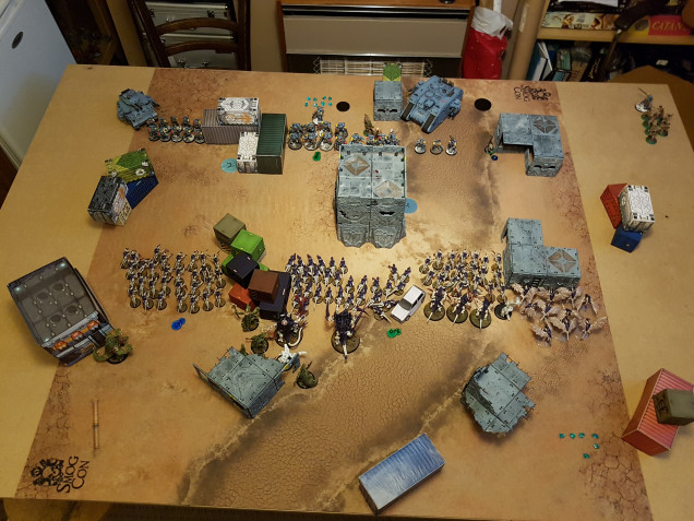 End of Tyranids Round 1 Activation