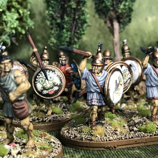 My Completed Greek Force