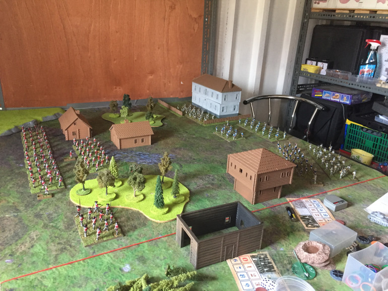 So just need to build 1 more british unit to even up the sides then its going to be time to roll some dice me thinks.  Still lots to build and paint but Im getting giddy to play now