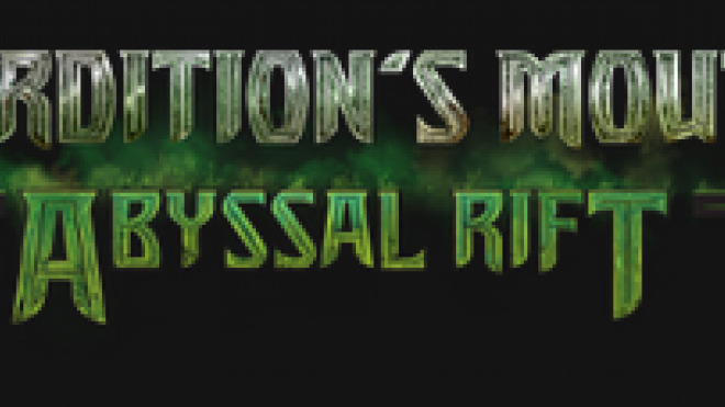 Perdition's Mouth Abyssal rift by caledor2
