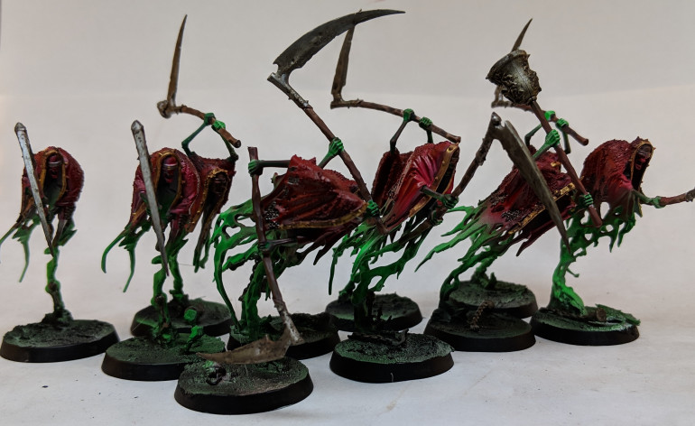 Bloodrage colours work very well for these units