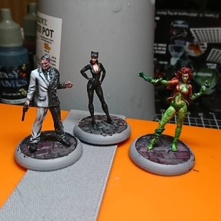 WIP Gothan City Sirens and Twoface Gang