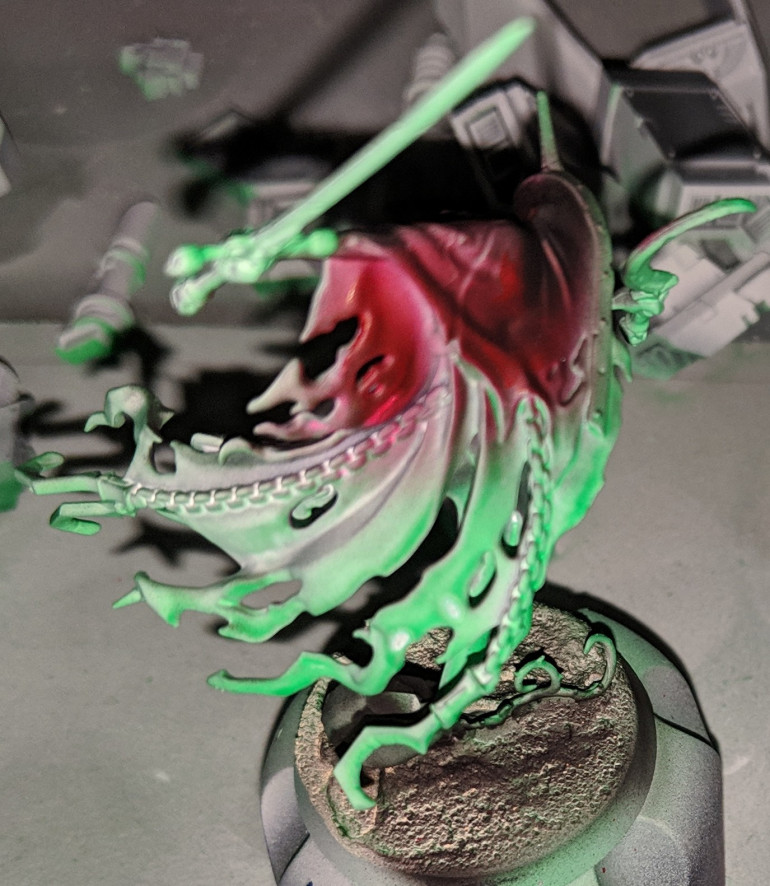 Bladegheist revenant special sculpt in a better Bloodrage theme