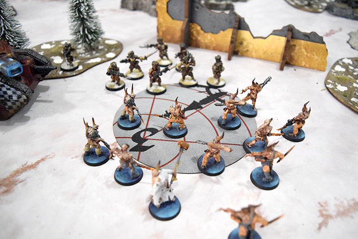 40K Objective Areas (In Play) - Bandua Wargames