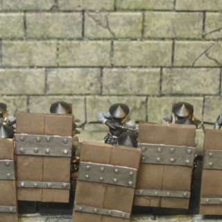 Painted 10 Uesugi advancing arquebus 10 more to go ;)