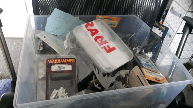 Spring Clean Challenge; My box of forgotten projects