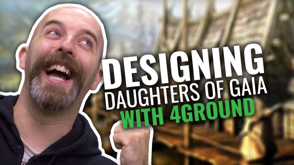 Designing The Daughters Of Gaia Temple With 4Ground