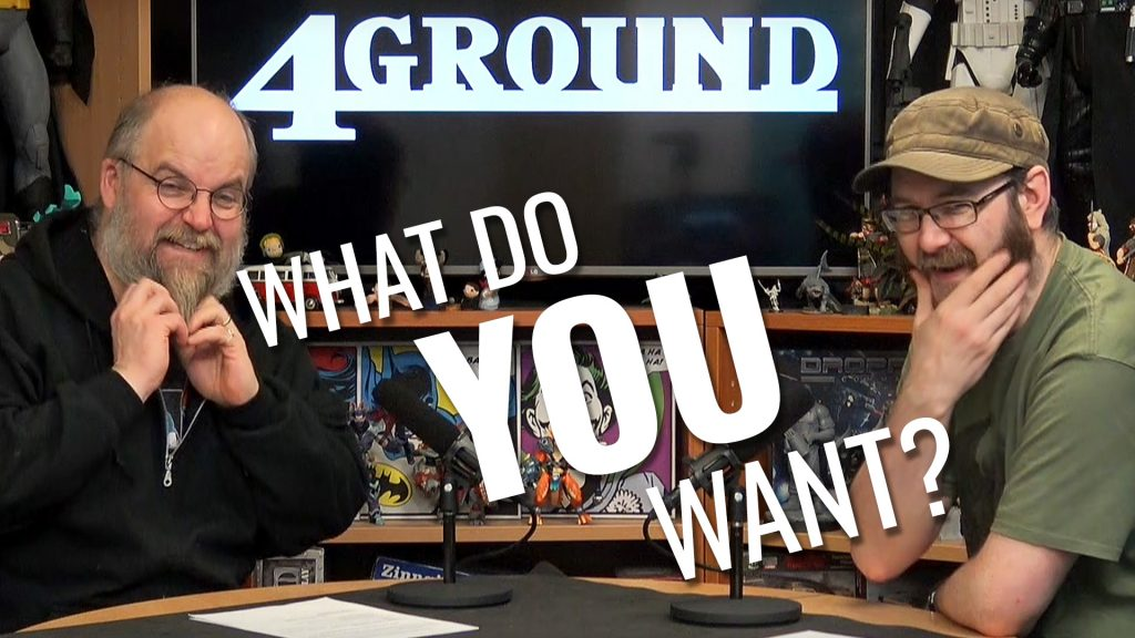 Tell 4Ground What You Want (What You Really Really Want)