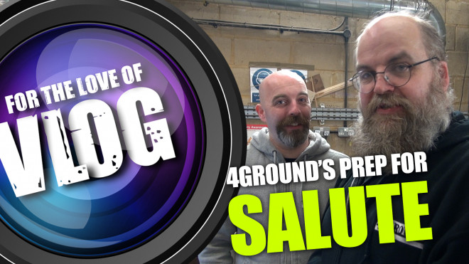 VLOG: 4Ground's Prep for Salute