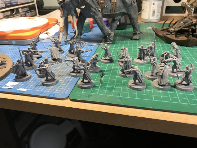 Cleaned, Assembled and Primed