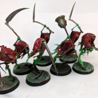 Finished with my Grimghast Reapers