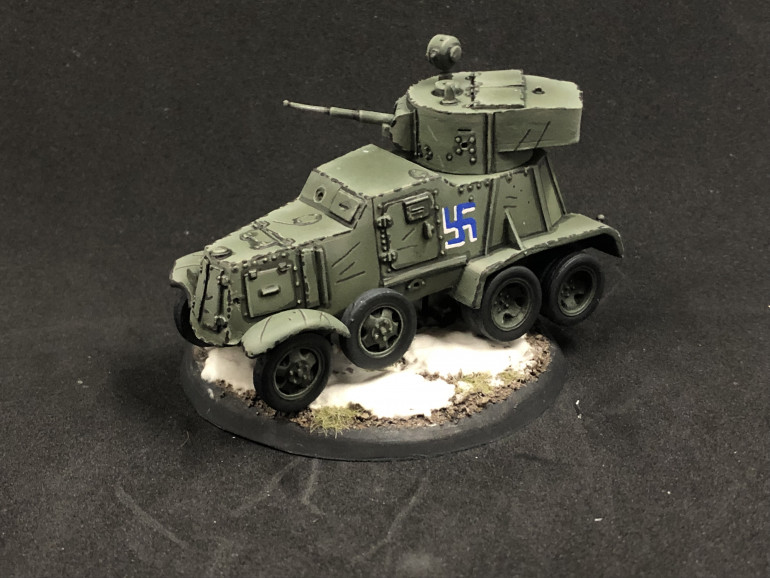 Still got some weathering to do on the wheels