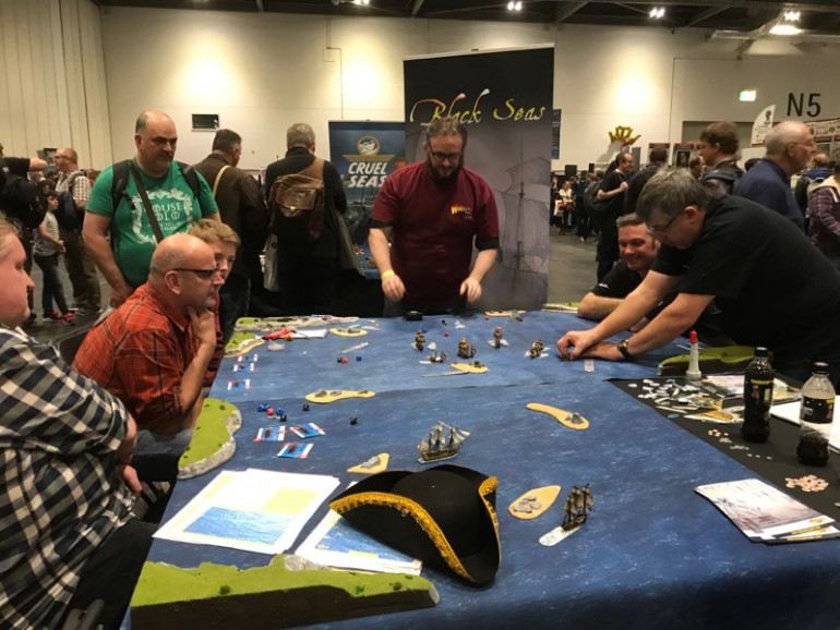 Warlord Games Reveal New Game Black Seas - Win A Prize!