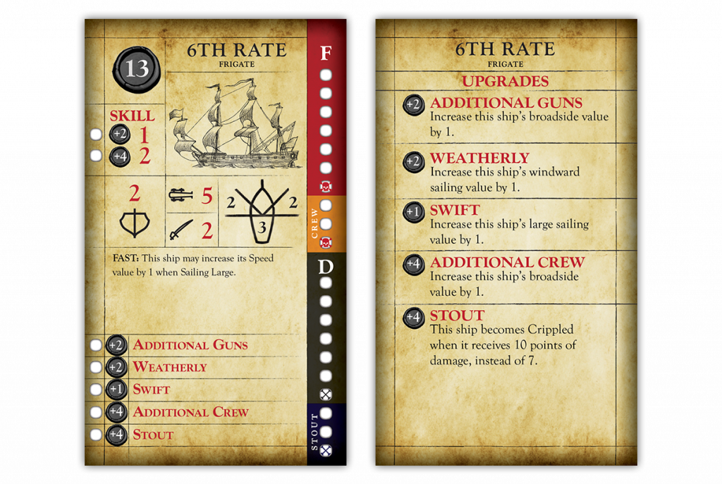 6th Rate Ship Of The Line - Firelock Games